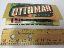 Made in Egypt CIGARETTE Rolling PAPER Vtg Ottoman Extra Ch. Dragonis Diplome
