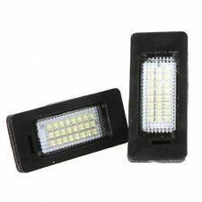 Bmw X5 E70-X6 E71 Led Para Placa de matrícula Luces-Canbus Error Free-Blanco