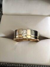 Gelin Abaci Absolutely Gorgeous Men's Ring 18K .52ct VS1