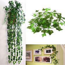 2.5M Artificial Ivy Leaf Garland Plants Vine Fake Home House Room Decor DIY