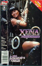 COMIC BOOK - XENA WARRIOR PRINCESS - THE DRAGONS TEETH - #3 - PHOTO COVER