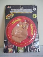 1991 WWF SUPERSTARS HULK HOGAN HULKAMANIA SEALED NEW PLASTIC FRISBEE FLYING DISC