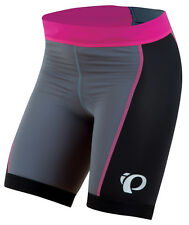 Pearl Izumi Women's Select Tri Triathlon Cycling Shorts Black Pink Small