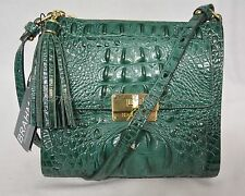 NWT! Brahmin Mimosa Crossbody/Shoulder Bag in Bayleaf Melbourne. Green Color