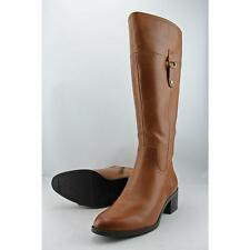 Franco Sarto Lizbeth Wide Calf Women US 9 Brown Knee High Boot Blemish  14306