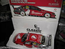 CLASSIC 1/18 DAVID REYNOLDS BUNDABERG RED 2009 HOLDEN COMMODORE VE V8's 18384