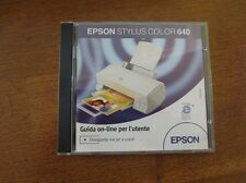 "CD Software ""Epson Stylus color 640"""