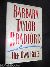 SIGNED; BARBARA TAYLOR BRADFORD - Her Own Rules - 1996-1st US Ed - Hardcover