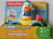 Fisher Price Little People BOUNCING DONALD Car Magic of Disney NEW