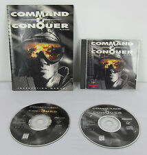 Command & Conquer 1995 PC C and C Westwood Studios CD ROM w/ manual