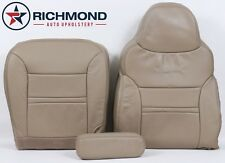2000 2001 Ford Excursion LIMITED -Complete Driver Side LEATHER Seat Covers TAN