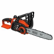 Black & Decker LCS1020 Max Lithium Ion CHAINSAW, 10 Inch 20V Battery CHAIN SAW