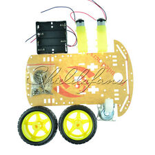 2WD Smart Robot Car Chassis Kit/Speed Encoder Battery Box Arduino 2 Motor 1:48 S