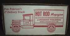 Hot Rod Magazine Ertl Toy Truck Bank Peterson Publishing 1st in Series 1991
