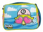 Gola By Tado Swim Redford Messenger Record Bag Retro Blue Yellow Pink