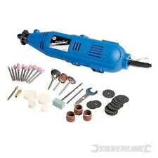 SILVERLINE 249765 MULTI PURPOSE ROTARY HOBBY TOOL 135W CRAFT CUTTING POLISHING