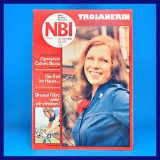 NBI 18/1973 - Gestüt Graditz Friedensfahrt Irak TRO Berlin - DDR-Zeitschrift