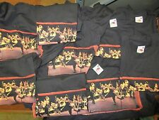 NEW - 10X WHOLESALE LOT OF BRUCE SPRINGSTEEN BAND CONCERT MUSIC T-SHIRT SMALL