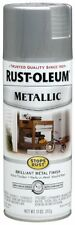SILVER Metallic Paint Spray for Metal Wood and More Rust Oleum 7271830 11 oz Can
