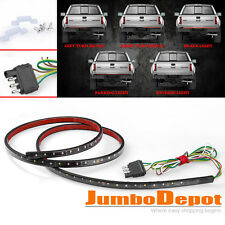 "60"" Car Trunk Tailgate Strip LED Light Reverse Brake Turn Signal For Ford F250"