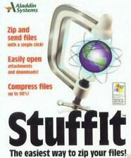 Stuffit 7.0 PC CD zip & unzip compressed files utility for attachments dowloads+