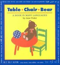 Table, Chair, Bear by Jane Feder (1997, Paperback)