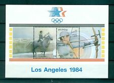 JEUX OLYMPIQUES - OLYMPIC GAMES LOS ANGELES BELGIUM 1984 block