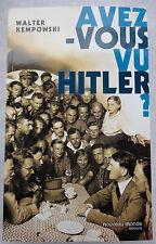 Avez-vous vu Hitler ?