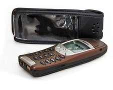 Ledertasche mit Gürtelclip + Sichtfenster Nokia 6210 6310 6310i Handy-Tasche Hül