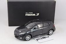 Dealer 1:18 New Mazda 3 Hatchback 2010 Mk.2(GREY) -Exclusive Version of Taiwan