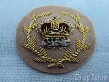 British Army Military Warrant Officer Tropical Dress Uniform Wire Badge / Patch