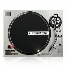 RELOOP RP-7000 SILVER - HIGH TORQUE PRO DIRECT DRIVE TURNTABLE, DJ Auth. Dealer