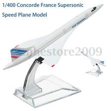 1/400 Metal supersonic speed Concorde Air France Diecast Plane Model Airplane