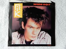 """Nik Kershaw """"Wide Boy/So Quiet"""" Picture Sleeve 45 RPM Record"""