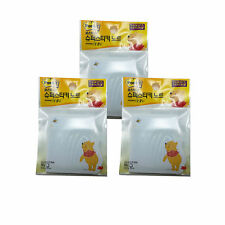 Lot of 3 3M Winnie The Pooh Post-It Memo Pad Super Sticky Note/50Sheets Per Pack