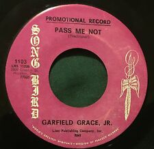 Song Bird 1103 45 GARFIELD GRACE JR Pass Me Not/The Holy Ghost black gospel mp3