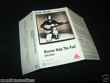 BOB WEIR HEAVEN HELP THE FOOL AUSTRALIAN Unused Inlay Card Only