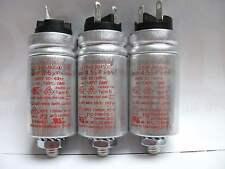 Studer REVOX B77, A77, PR99  Betriebs-, Motorkondensatoren 1 Satz (3 Stck) NEU