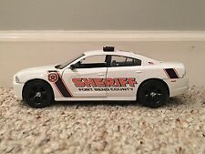 Fort Bend County Texas custom sheriff's diecast charger Motormax 1:24 scale