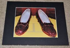 ORIGINAL RED RUBY SLIPPERS 1939 WIZARD of OZ SMITHSONIAN RARE SIGNED #4/25 PRINT