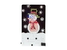 KIT ELECTRONIQUE BONHOMME DE NEIGE ANIME NOEL FETE A 69 LED A MONTER