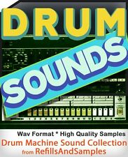 Drum Machine BEATBOX SAMPLES Collection 6700 Sounds Library Vintage 1970 1980 CD