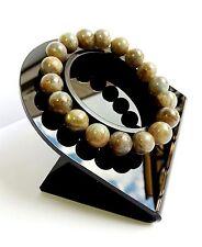 Bracelet Labradorite en Pierre Naturelle Bijoux Minéral Femme Lithothérapie