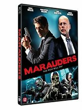 MARAUDERS (2016 Bruce Willis) -  DVD - PAL Region 2 - New