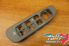 02-05 Dodge Ram 1500 2500 3500 Driver Side Window Switch Lock Bezel Tan Mopar