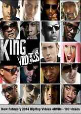 FEB 2014 HOTTEST NEW RAP HIP HOP MUSIC VIDEOS! 5+ HRS CAR INDASH 100 Videos 4DVD