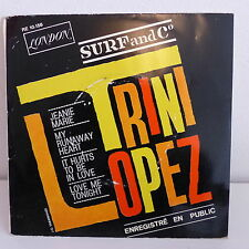 TRINI LOPEZ En public Jeanie Marie RE 10156 LONDON