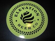 ELEVATION BEER CO Apis IV Oil Man Yello STICKER decal craft beer brewery brewing