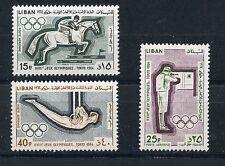 STAMP / TIMBRE  LEBANON- LIBAN PA N° 329/331 ** JEUX OLYMPIQUES DE TOKYO