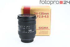 Canon Sigma 24-135 mm 2.8-4.5 D + Sehr Gut (215499)
